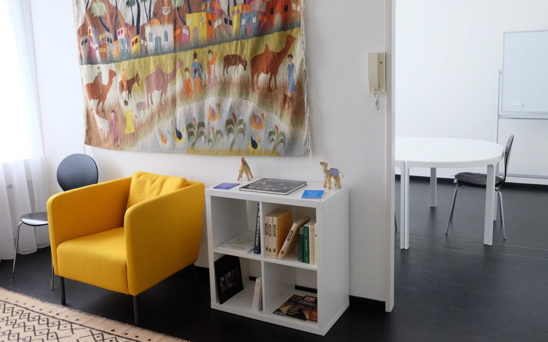 Neuer Kursort und neues Design Website Arabischlernen.ch